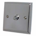 Spectrum Polished Chrome Toggle Light Switches